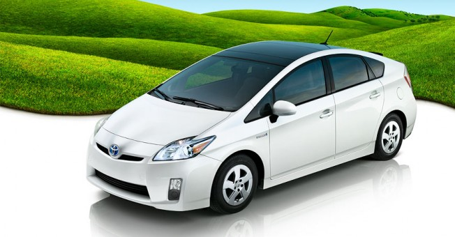 """Toyota Prius con """"pack Ecosolar"""" - Solo sirve para ayudar a mantener la temperatura del interior"""