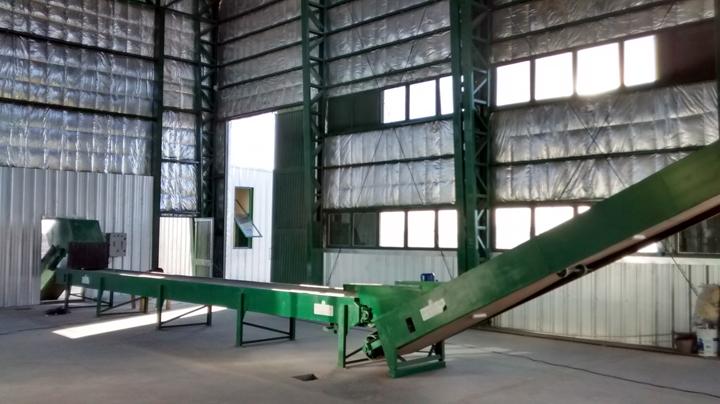 Las cintas de separación y clasificación de residuos serán estratégicas el año que viene para dotar a la planta VERSU de material de combustión.