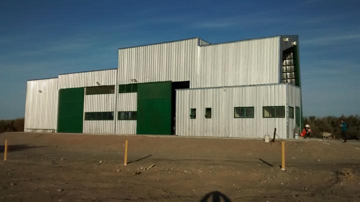 Así se ve la moderna planta de tratamiento de residuos de Cañada Honda. En el mismo predio se hará la planta VERSU y el laboratorio.